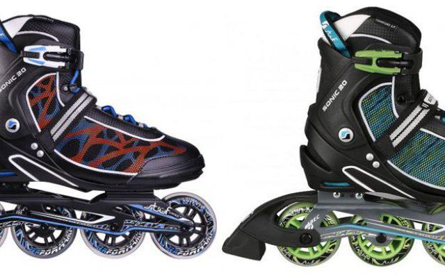 AKCIA Výpredaj: Kolieskové korčule Stuf Sonic 20 Alu Inline
