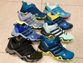 Dámska alebo juniorská trekingová obuv ADIDAS Terrex AX2R K