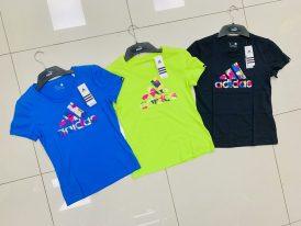 Dámske športové tričká Adidas Foil Logo ClimaLite Cotton