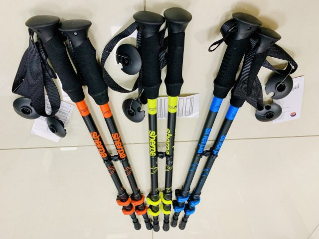 2021/22 AKCIA nová kolekcia: Trekingové nastaviteľné palice High Colorado Sherpa QuickLock