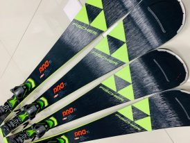 AKCIA: Lyže Fischer RC4 PRO TITANIUM world cup race lyže + viazanie Z11