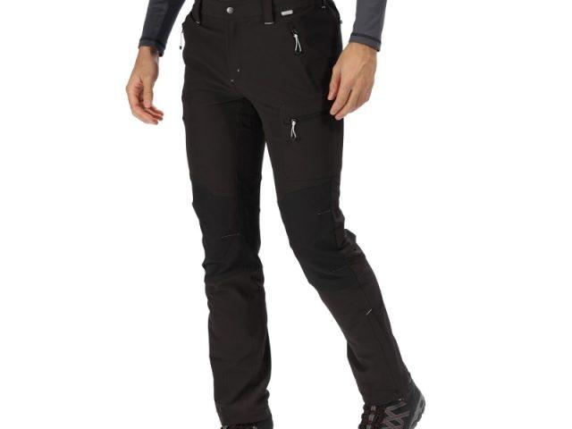 Pánske trekingové nohavice Regatta Questra II RMJ225R