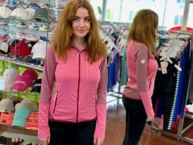 Dámske celorozopínacie thermo tričko GTS Ladies Bicolor Jacket