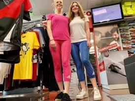 Dievčenské/dámske športové legíny Adidas Climalite 7/8 Tight