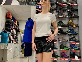 Dievčenské/dámske športové tričko Adidas Climalite white