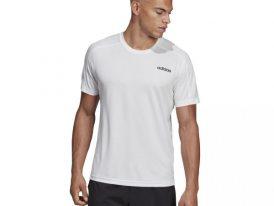 Pánske športové tričko Adidas Design 2 Move Tee white