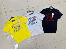Pánske športové tričká s krátkym rukávom Kappa Logo Baber