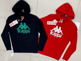 Pánske mikiny s kapucňou Kappa Authentic Zimim