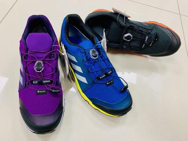 Gore-texová turistická obuv Adidas Terrex GTX Continental K new colors