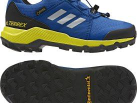 Nízka gore-texová turistická obuv Adidas Terrex GTX Continental K 2019