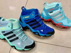 Obuv Adidas TERREX AX2R Mid Climaproof K Traxion