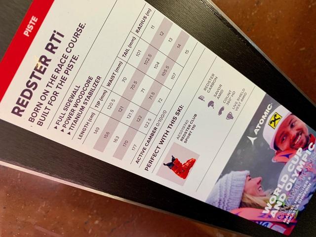 AKCIA: Race lyže ATOMIC Redster RTi XT 2019/20 + viazanie ATOMIC FT 11