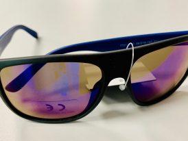 Športové okuliare Basley 7701 black matt/blue