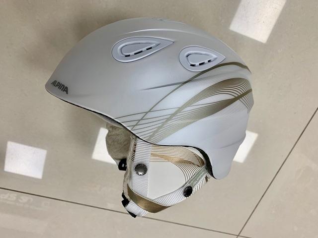 Dámska lyžiarska prilba ALPINA Grap 2.0 white/prosecco matt ZIMA 2020/21