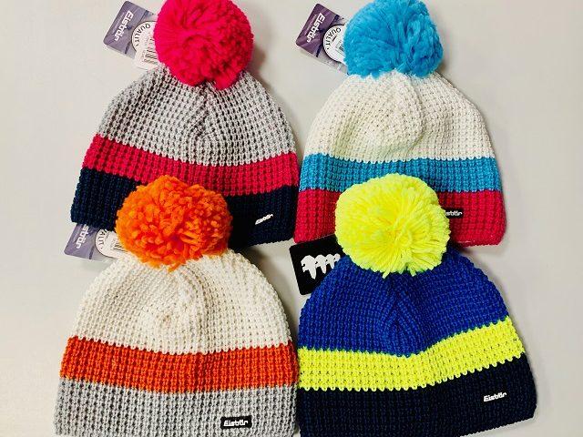 Dámska/dievčenská pletená zimná čiapka Eisbär Flip Pompon Merino Zima 2019/20