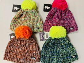 Dámska/dievčenská pletená zimná čiapka Eisbär Collect Pompon Merino Zima 2019/20