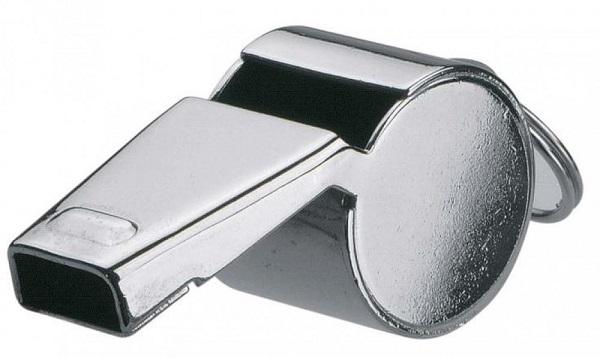 Kovová píšťalka Pfeife Metall