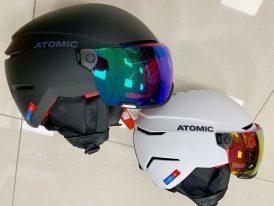 Lyžiarska prilba so štítom ATOMIC Savor Amid Visor HD 2019/20
