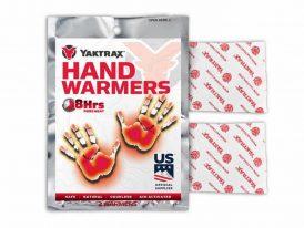 Dva hrejivé vankúšiky na ohrievanie rúk Yaktrax Hand Warmers 2x
