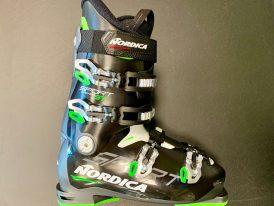 AKCIA: Pánska lyžiarska obuv NORDICA Sportmachine ST black/green