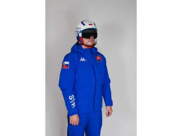 6CENTO FIS lyžiarska pánska bunda Kappa 6CENTO 611 SLOVENSKO ZIMA 2020/21