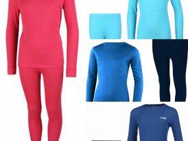 Detské termoprádlo High Colorado Riga Underwear Set: tričko s dlhým rukávom + dlhé spodky