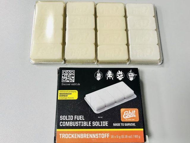 Varič na tuhý lieh + liehové tablety ESBIT Pocket Stove