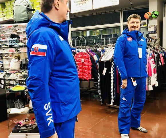 Lyžiarska pánska bunda Kappa 6CENTO 611 SLOVENSKO limitovaná edícia ZIMA 2019/20