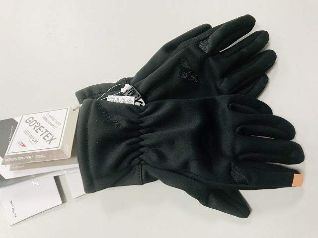 Softshellové WINDSTOPPER rukavice ZANIER Move GORE-TEX Infinium ZIMA 2019/20