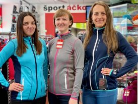 Dámske thermo bundy GTS Ladies Waffle Fleece Jacket Zima 2019/20