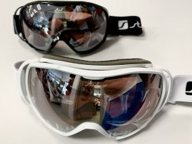 Juniorské/dámske lyžiarske okuliare Skibrille STUF Flow DL ZIMA 2019/20