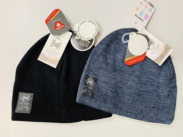 Zimná čiapka BUFF Knitted Polar Hat Solid uni