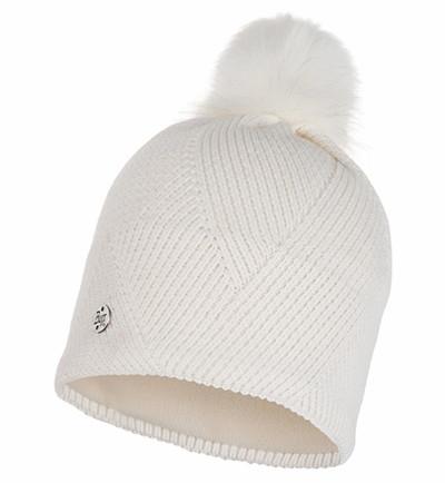 Dámska zimná čiapka BUFF Knitted Polar Hat Disa Fog ZIMA 2019/20