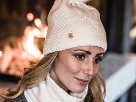 Dámska zimná čiapka BUFF Knitted Polar Hat Disa Fog
