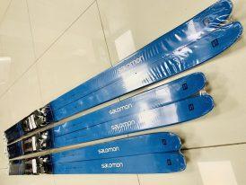 Dámske bežky Salomon Snowscape 7 Vitane + viazanie Prolink 2019/20