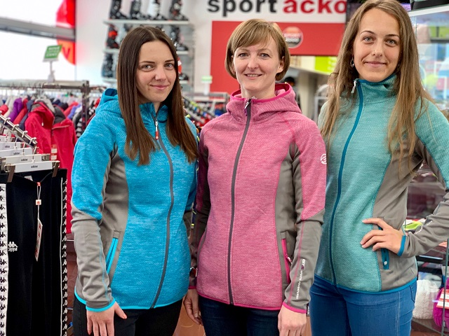 Dámske thermo bundy GTS Ladies Sports Adventures Combi Mix Jacket Zima 2019/20