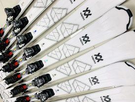 Dámske lyže s viazaním Volkl Flair 7.4