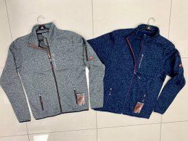Pánske športové svetre GTS Knitted Fleece Jacket ZIMA 2019/20