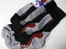 AKCIA: Detské lyžiarske ponožky/podkolienky Sport MERINO 2 páry