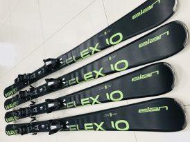 Zjazdové lyže s viazaním ELAN Waveflex 10 Light Shift black