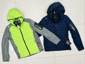 Pánska fleeceová bunda GTS Knitmix Padded Jacket ZIMA 2019/20