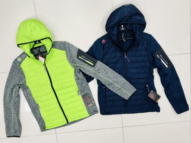 Pánska fleeceová bunda GTS Knitmix Padded Jacket