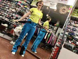 AKCIA: Dámske lyžiarske nohavice STUF Tilta Lady turquoise blue
