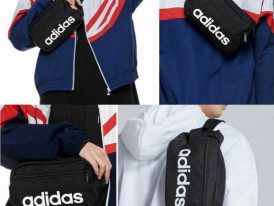 Adidas ľadvinka Linear Core Waist Bag black Summer 2020