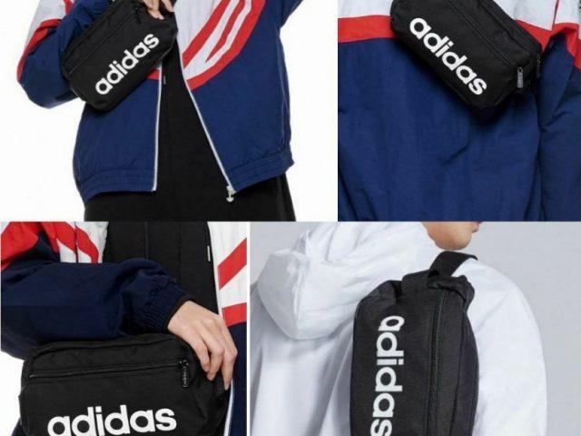 Ľadvinka Adidas Linear Core Waist Bag black Jar/Leto 2020