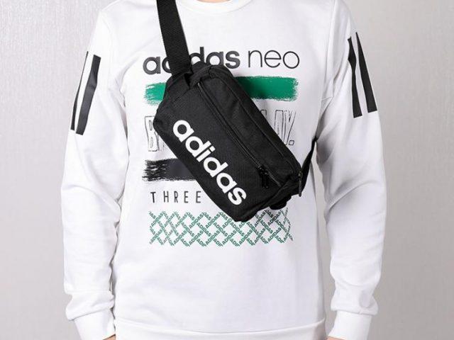Adidas ľadvinka Linear Core Waist Bag black Summer 2020