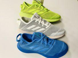 Ľahká a vzdušná športová obuv Adidas FortaRefine eco K model 2020