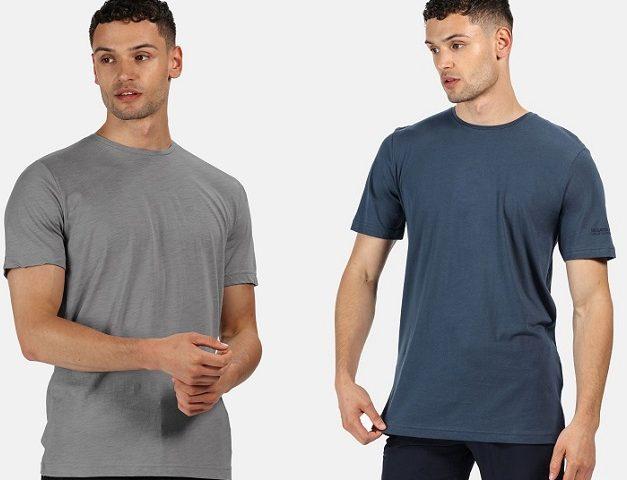Pánske bavlnené tričko Regatta Tait RMT218