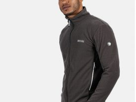 AKCIA Výpredaj: Pánska fleecová mikina Regatta Highton Zip Fleece RMA415