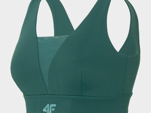 Dámska športová podprsenka 4F Dry and Cool YOGA Medium Support Bra
